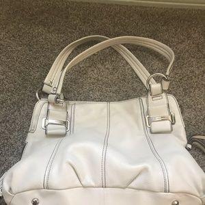 B. Makowsky stone leather shoulder bag! Great bag!